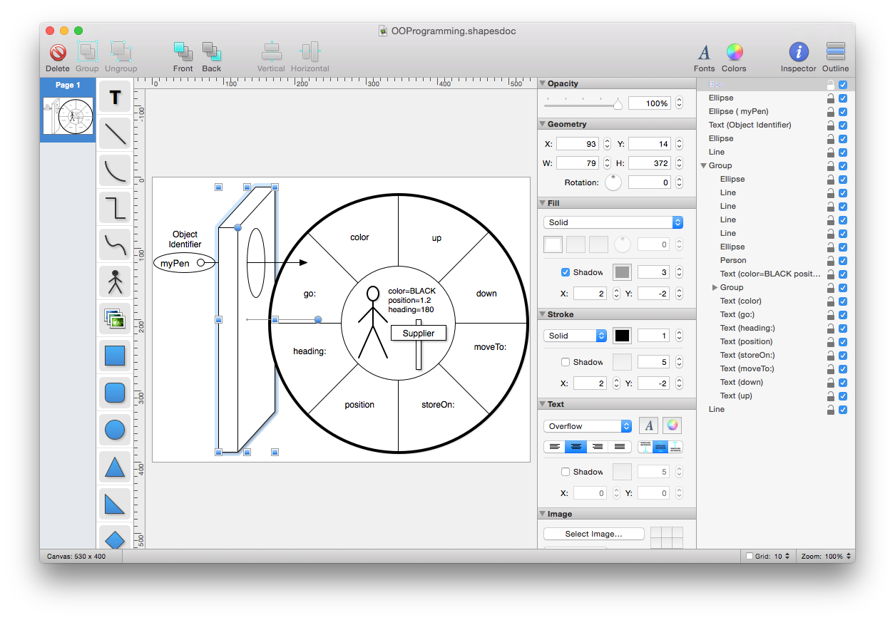 Shapes A Simple Yet Powerful Diagram And Flowchart App For Mac Os X Block Image Inspired By Cryptography Engineering